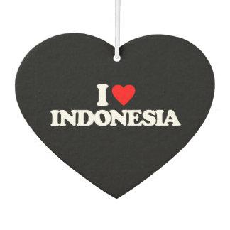 I LOVE INDONESIA AIR FRESHENER