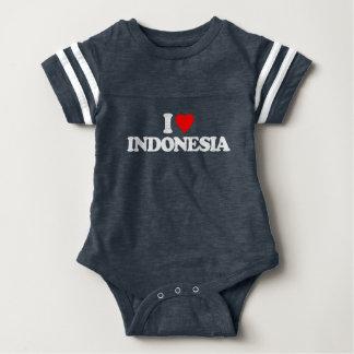 I LOVE INDONESIA BABY BODYSUIT