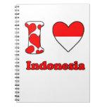 I love Indonesia Ringband Notitieboeken