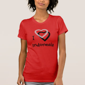 I Love Indonesia T-Shirt