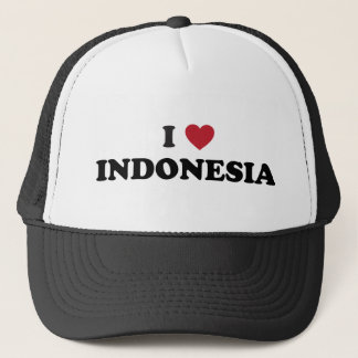 I Love Indonesia Trucker Hat