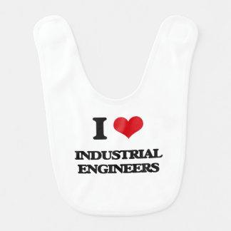 I love Industrial Engineers Bib