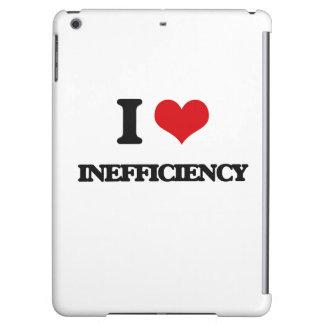 I Love Inefficiency iPad Air Cases
