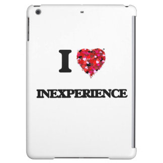 I Love Inexperience iPad Air Cover