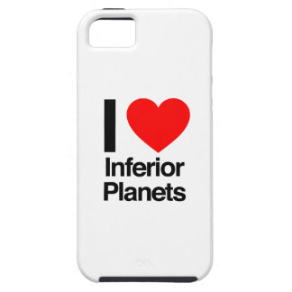 i love inferior planets iPhone 5 case