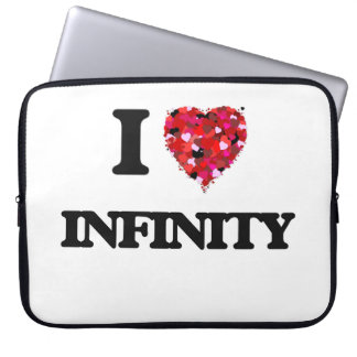 I Love Infinity Laptop Computer Sleeve
