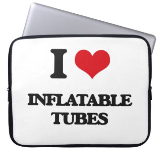 I Love Inflatable Tubes Laptop Computer Sleeves