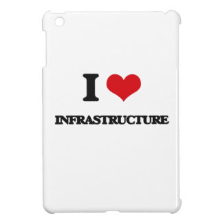 I Love Infrastructure iPad Mini Case