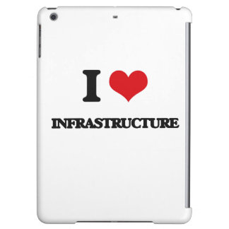 I Love Infrastructure iPad Air Cover