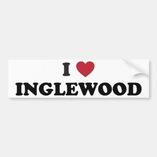 I Love Inglewood California Bumper Sticker