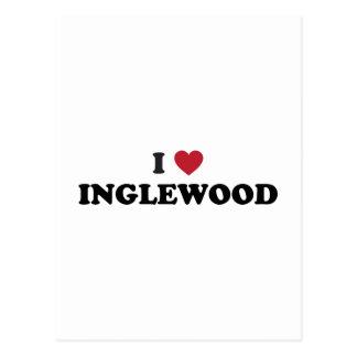 I Love Inglewood California Postcard