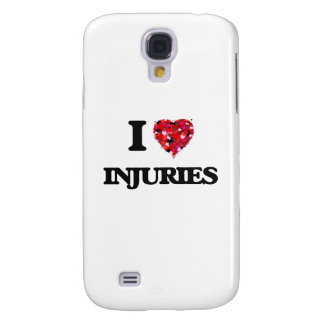 I Love Injuries Galaxy S4 Covers