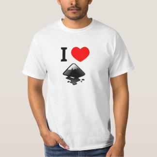 I love Inkscape Tee Shirt