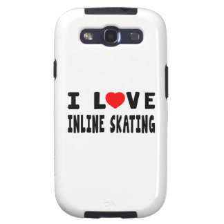 I Love Inline Skating Galaxy SIII Cover