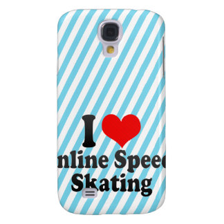 I love Inline Speed Skating Galaxy S4 Cases