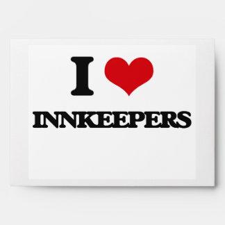 I Love Innkeepers Envelopes