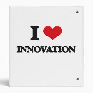 I Love Innovation 3 Ring Binder