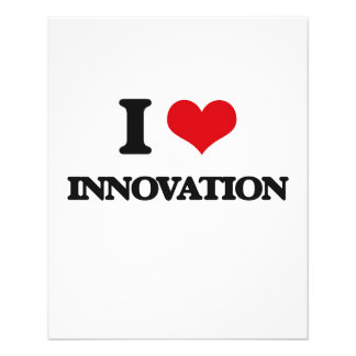 I Love Innovation Flyer Design