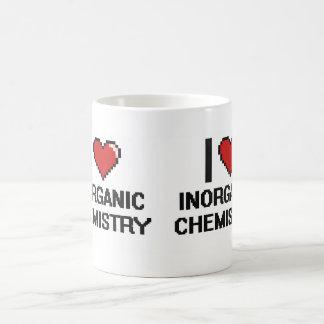 I Love Inorganic Chemistry Digital Design Classic White Coffee Mug