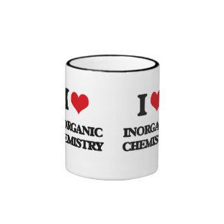 I Love Inorganic Chemistry Ringer Coffee Mug