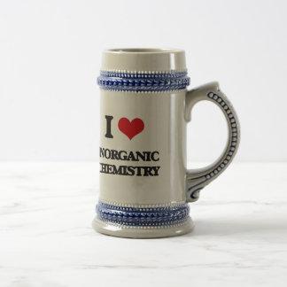 I Love Inorganic Chemistry 18 Oz Beer Stein
