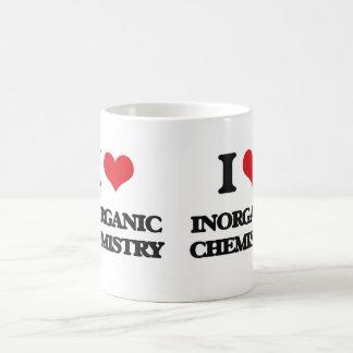 I Love Inorganic Chemistry Classic White Coffee Mug