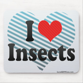 I Love Insects Mousepad
