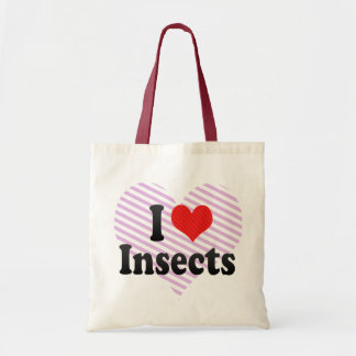 I Love Insects Tote Bag