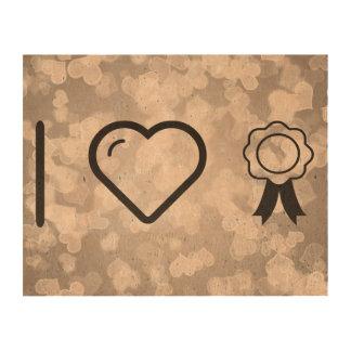 I Love Insignias Photo Cork Paper