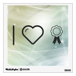 I Love Insignias Wall Skins