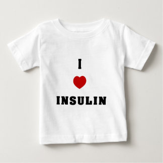 I Love Insulin Baby T-Shirt