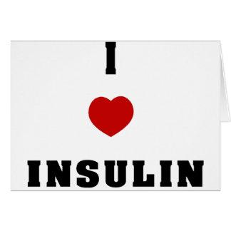 I Love Insulin Card