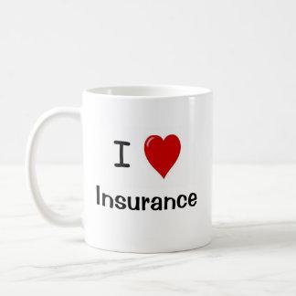 I Love Insurance - Insurance Loves Me Coffee Mugs