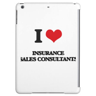 I love Insurance Sales Consultants iPad Air Case