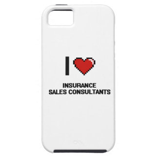 I love Insurance Sales Consultants iPhone 5 Case