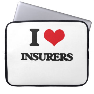 I love Insurers Laptop Computer Sleeves