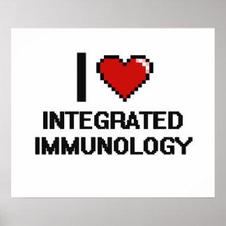 I Love Integrated Immunology Digital Design Poster