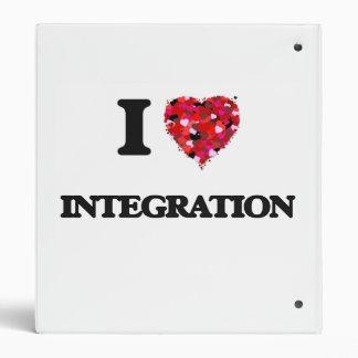 I Love Integration 3 Ring Binder
