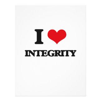 I Love Integrity Flyers