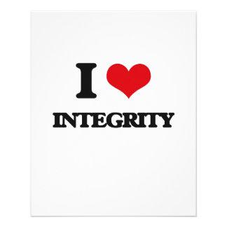 I Love Integrity Flyer