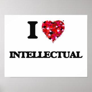 I Love Intellectual Poster