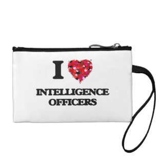 I love Intelligence Officers Coin Purse