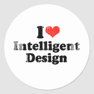I LOVE INTELLIGENT DESIGN.png Stickers