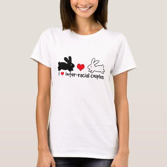 I Love Inter-racial Couples (light) T-Shirt