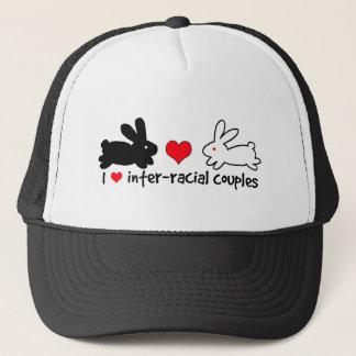 I Love Inter-racial Couples Trucker Hat