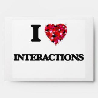 I Love Interactions Envelopes