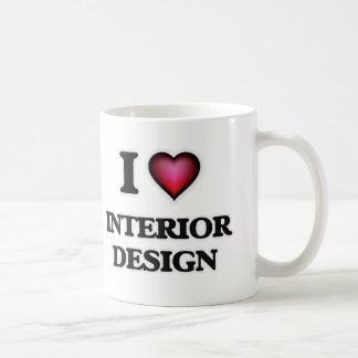 I Love Interior Design Coffee Mug