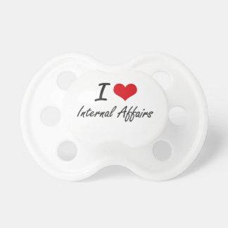 I Love Internal Affairs BooginHead Pacifier