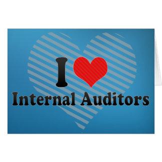 I Love Internal Auditors Cards