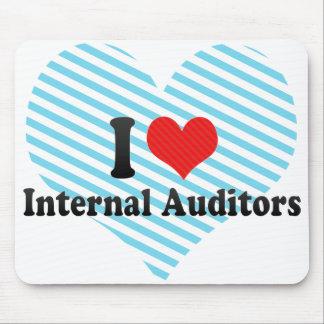 I Love Internal Auditors Mousepad